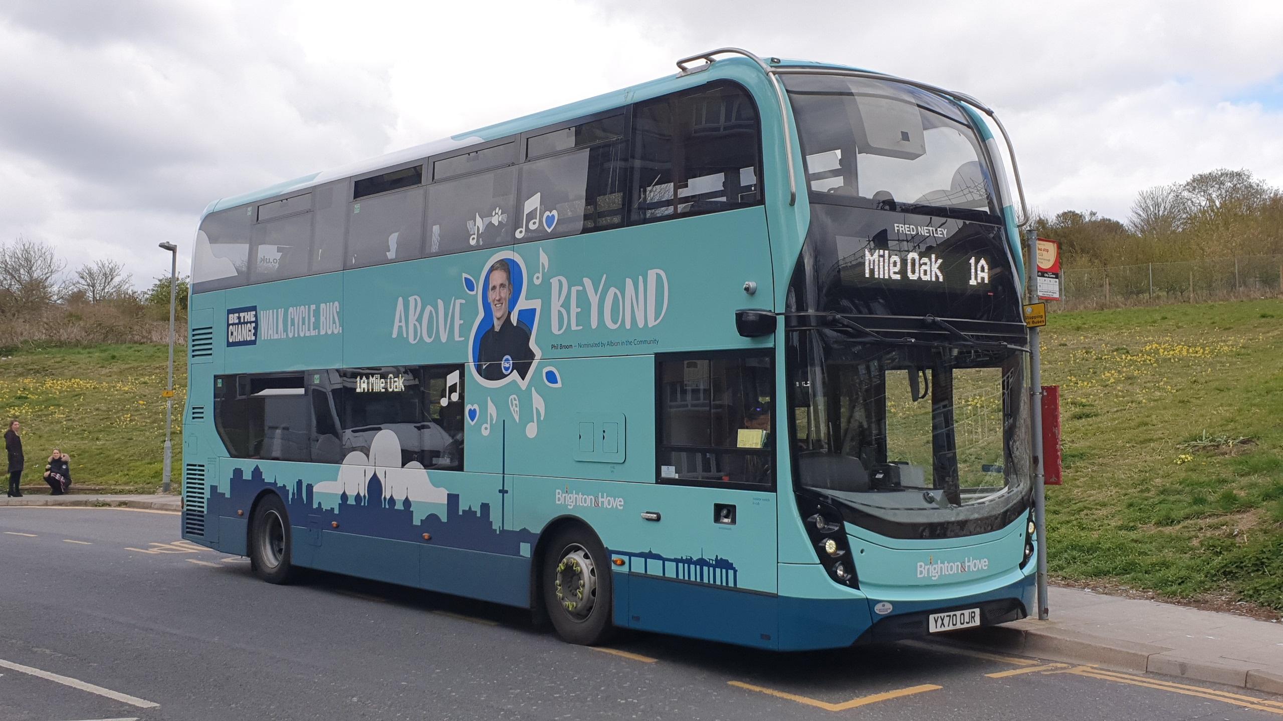 Latest Brighton & Hove Bus
